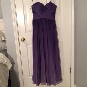 Purple ombré banquet/prom dress